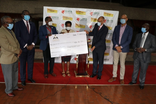 Press Release: Capital markets industry donates Ksh30 million in support of national efforts to address the adverse effects of the Coronavirus pandemic